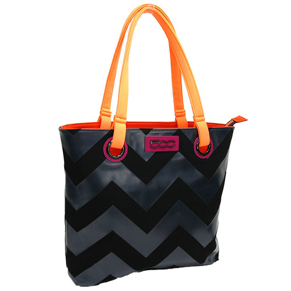 FIAT 500 Tote Bag-SEVEN-(BLACK)