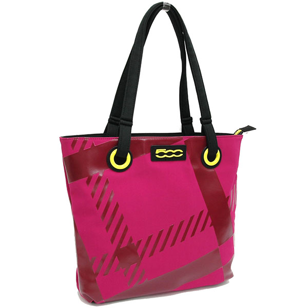 FIAT 500 Tote Bag-SEVEN-(Purple)