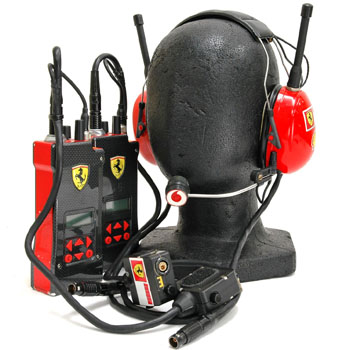 Scuderia Ferrari Theam Head Set