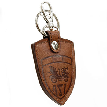 ASI Official Leather Keyring