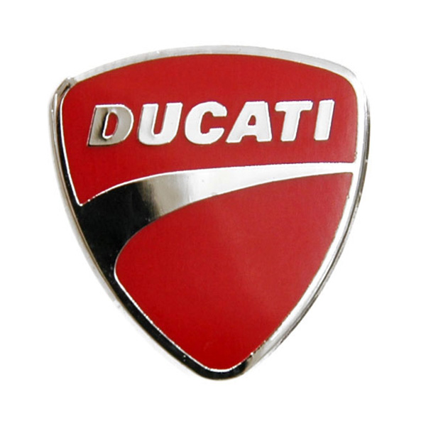 DUCATI Emblem Pin Badge