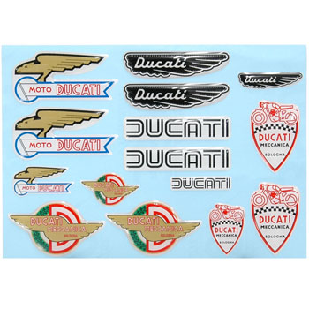 DUCATI Decal Kit -HISTORICAL-