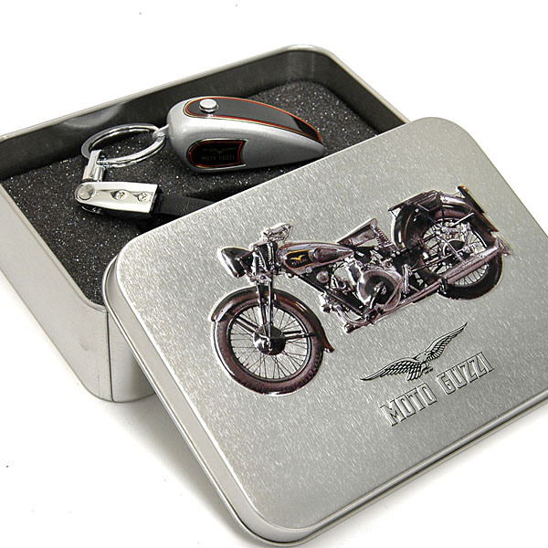 MOTO GUZZI Official Keyring-Tank Shaped/Silver-
