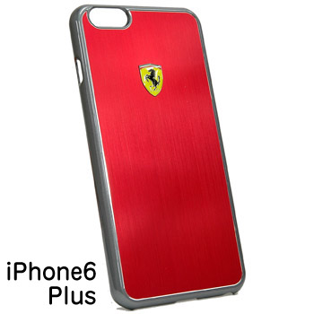 Ferrari iPhone 6/6s Plus Hard Case-Red-