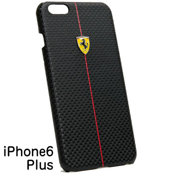 Ferrari iPhone6/6s Plus Case-F1/Black-