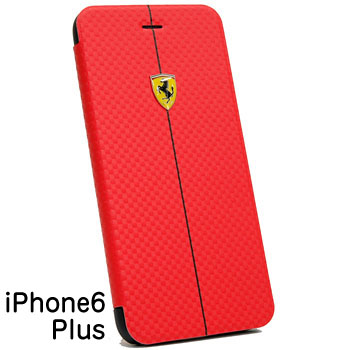 Ferrari iPhone6/6s Plus Book Type-F1/Red-