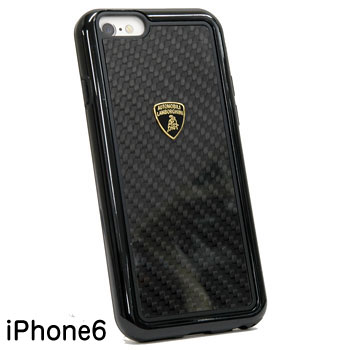 Lamborghini iPhone6/6s Case(Carbon/Black frame)