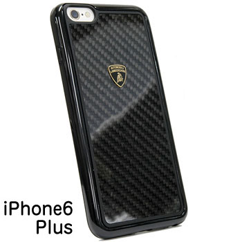 Lamborghini iPhone6/6s Plus Case(Carbon/Black Frame)