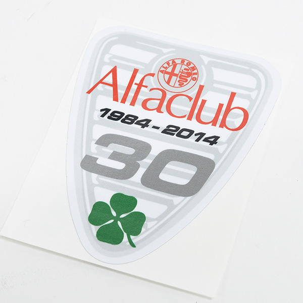 Alfa Club 30anni Sticker