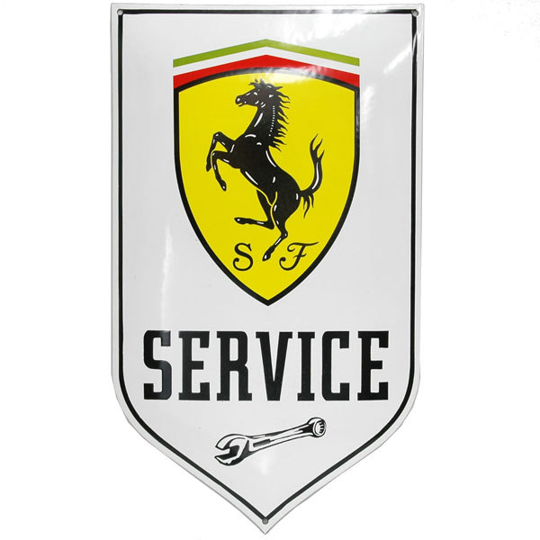 Ferrari SERVICE Sign Boad(Large)