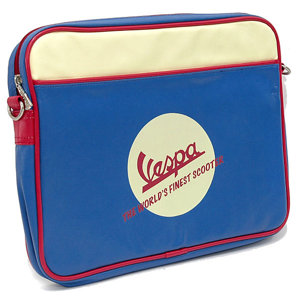 Vespa Official Note PC Sleeve Bag(Blue)