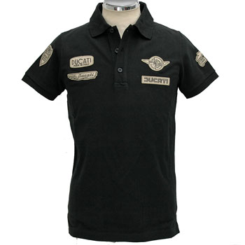 DUCATI Polo Shirts-HISTORICAL-