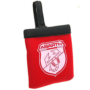 ABARTH Small Pouch(Red/Black)