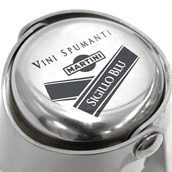 MARTINI Official Bottle Cap(Chrome)