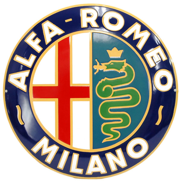 Alfa Romeo MILANO Sign Boad(400mm)