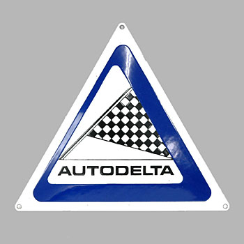 Alfa Romeo AUTODELTA Sign Boad(Small)