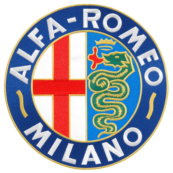 Alfa Romeo Milano Emblem Patch(240mm)