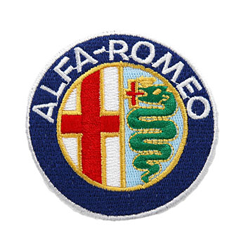 Alfa Romeo Emblem Patch(70mm)