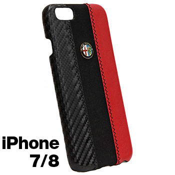 Alfa Romeo iPhone7/6/6s Case-Stripe-(BLACK)<br><font size=-1 color=red>09/07到着</font>