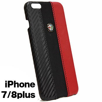 Alfa Romeo iPhone6/6s Plus Case-Stripe-(BLACK)