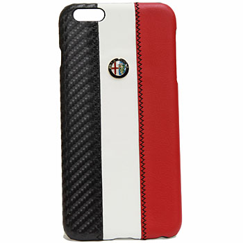 Alfa Romeo iPhone7/8PlusCase-Stripe-(WHITE)