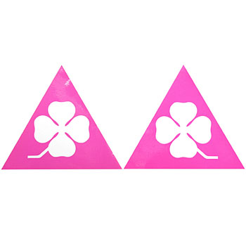 CLUB Alfa 75 QUADRIFOGLIO Sticker Set (Pink)