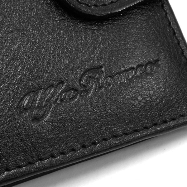 Alfa Romeo Leather Wallet(Black)