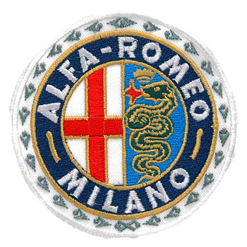 Alfa Romeo MILANO Emblem Patch(80mm)
