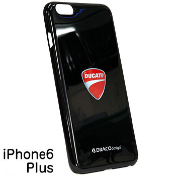 DUCATI iPhone6/6s Plus Case-Emblem/Black-