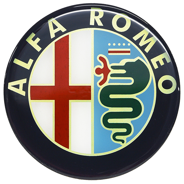 Alfa Romeo Emblem 3D Sticker Type B(75mm)