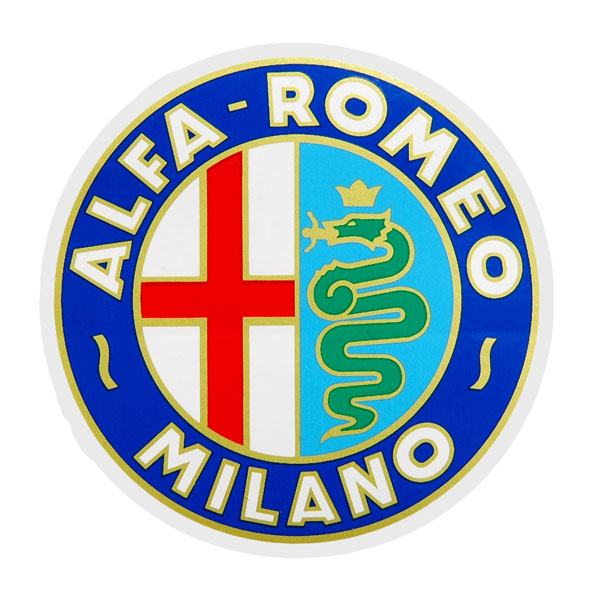 Alfa Romeo MILANO Emblem Sticker(65mm)