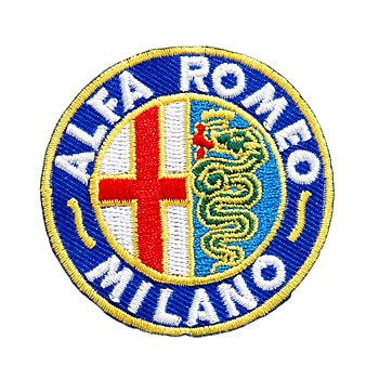 Alfa Romeo MILANO Emblem Patch(55mm)