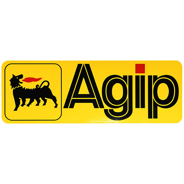 Agipステッカー(244mm)<br><font size=-1 color=red>10/31到着</font>