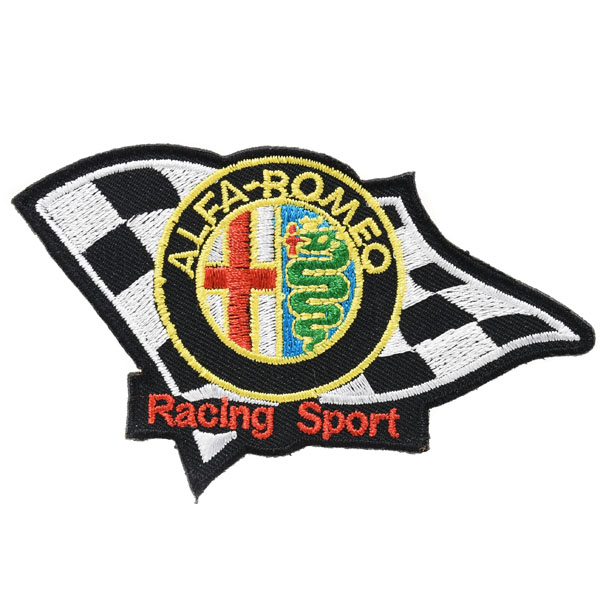 Alfa Romeo RACING SPORTS Patch