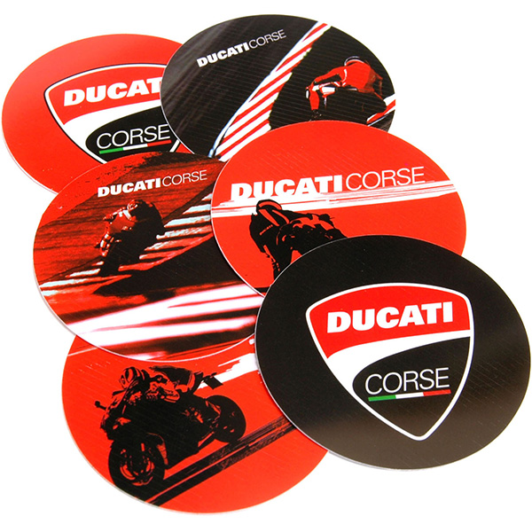 DUCATI Coaster Set(6pcs.)