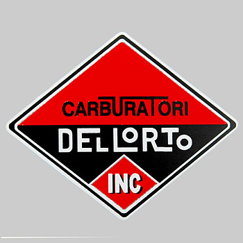 DELLORTO Sticker