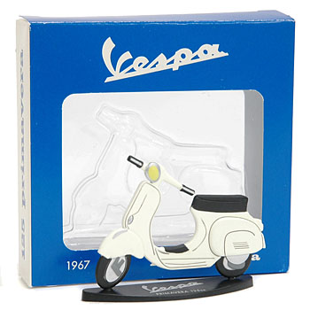 Vespa 125 Primavera Miniature Object(White)