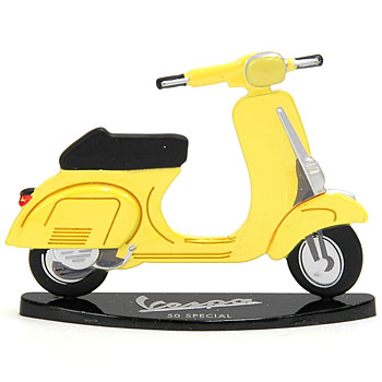 Vespa 50 Special Miniature Object(Yellow)