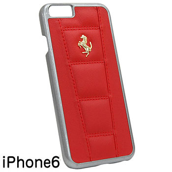 Ferrari iPhone6/6s Leather Case-458/Red-
