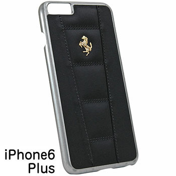Ferrari iPhone6/6s Plus Leather Case-458/Black-