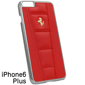 Ferrari iPhone6/6s Plus Leather Case-458/Red-
