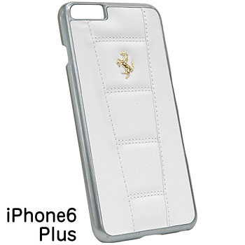 Ferrari iPhone6/6s Plus Leather Case-458/White-