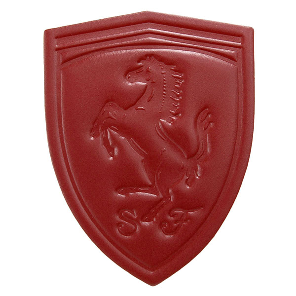 Ferrari Emblem Leather Patch(Small)