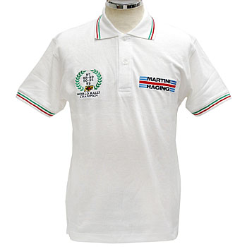 MARTINI RACING Polo-shirts(White)