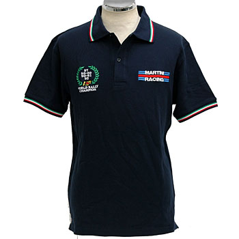 MARTINI RACING Polo Shirts(Navy)
