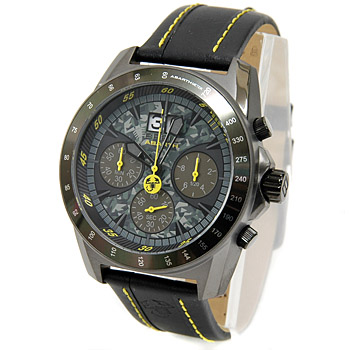 ABARTH Quarzt Chronograph Watch-Camouflage-by BREIL<br><font size=-1 color=red>02/10到着</font>