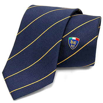 ASI Official Neck-Tie-Gold Stripe-