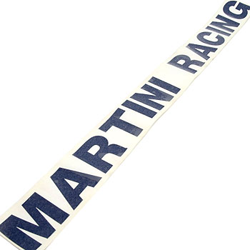 MARTINI RACING Logo Sticker(Die Cut/Large)