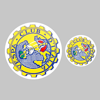 Vespa CLUB ITALIA Sticker