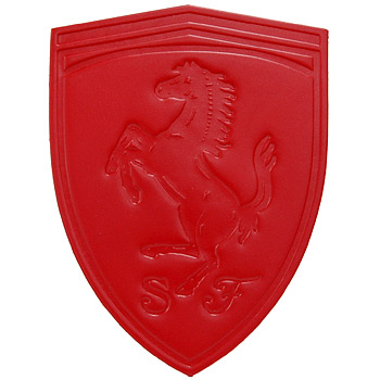 Scuderia Ferrari Leather Patch